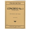 Concerto No. 1 in D Major, Op. 6 for violin and piano - Paganini
