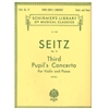 Seitz OP. 12 Third Pupil's Concerto for Violin and Piano