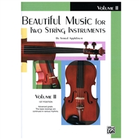 Beautiful Music for Two String Instruments, CELLO Volume 2 - Samuel Applebaum