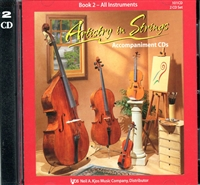 Artistry in Strings, Book 2 CD