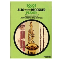 Solos for the Alto Recorder Player with Piano Accompaniment - Camden & Devereux