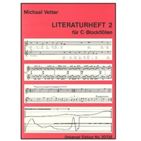 Literature, Vol 2 for C Recorder - Vetter