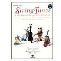 String Tunes for Bass book and CD - Michael Katz