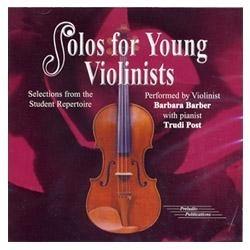 Solos for Young Violinists, Volume 5 CD - Barbara Barber