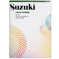 Revised- Suzuki Cello School: Volume: Piano Accompaniment