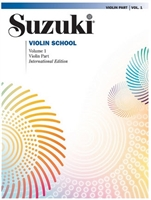 Suzuki Violin School: Volume: Violin Part-Revised
