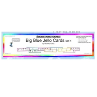 Big Blue Jello Cards- Set 1 Music Mind Games