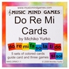 Music Mind Games Do Re Mi Cards