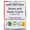 Notes and Rests Cards- Music Mind Games