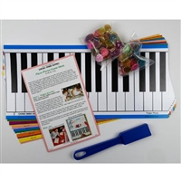 Music Mind Games 12 Paper Pianos