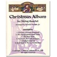 Christmas Album for String Quartet