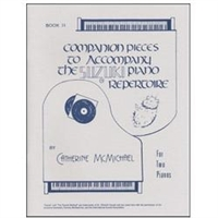 Companion Pieces to Suzuki Piano, Volume 2 - Two Pianos - McMichael