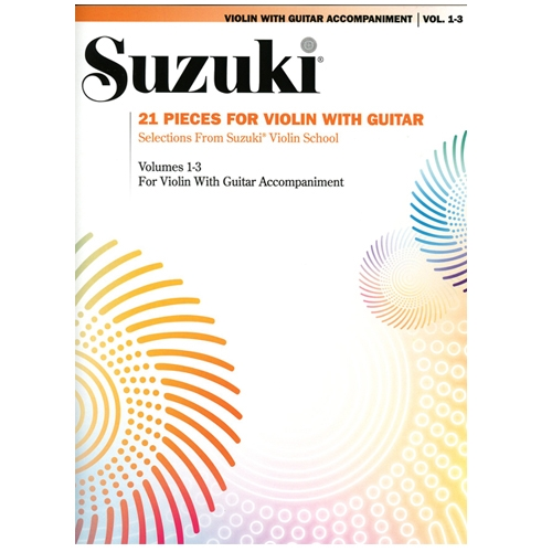 21 Pieces for Violin with Guitar (for volumes 1-3)