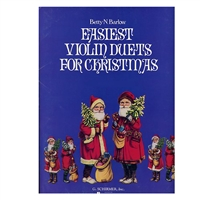 Easiest Violin Duets for Christmas/ bent cover