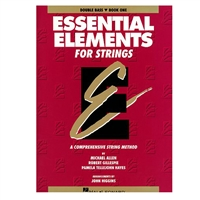 Essential Elements for Strings Double Bass Book One