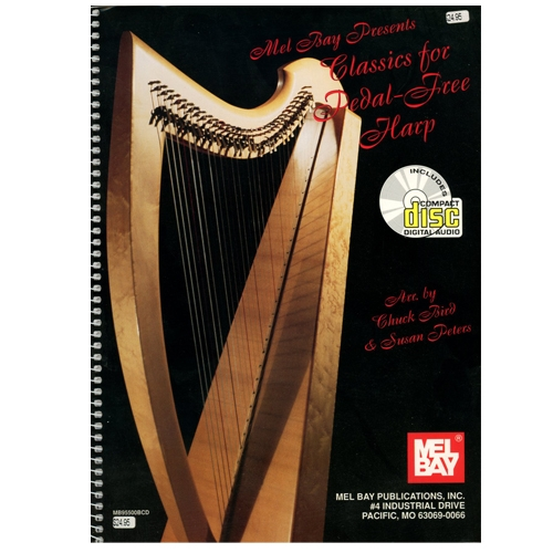 Classics for Pedal-Free Harp, plus CD - Bird & Peters
