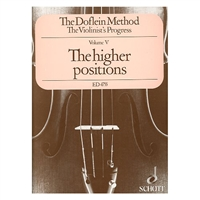 The Doflein Method - The Violinist's Progress, Volume 5