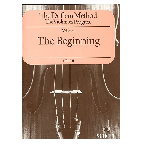 The Doflein Method - The Violinist's Progress, Volume 1