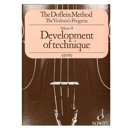 The Doflein Method - The Violinist's Progress, Volume 2