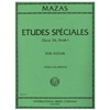 Etudes Speciales for Violin, Opus 36, Book 1 - Mazas