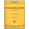 Etudes Brillantes for Violin, Opus 36, Book 2 - Mazas