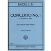 Concerto No. 1 in A minor for Violin and Piano - J. S. Bach