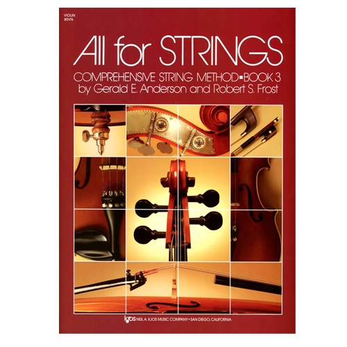 All for Strings Book 3 for violin