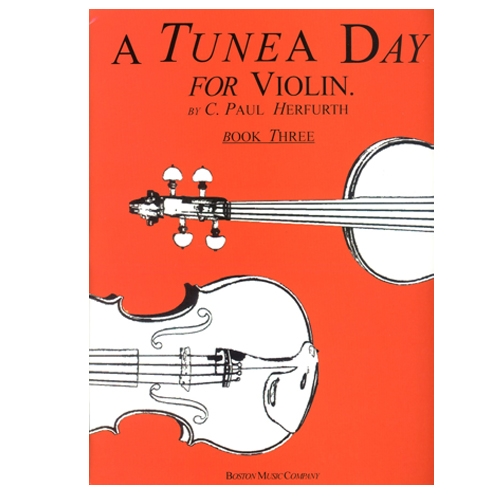 A Tune A Day Method for Violin, Book 3 - Herfurth