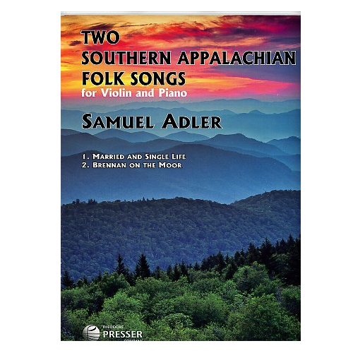 Two Southern Appalachian Folk Songs