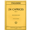 Paganini 24 Caprices, Op 1 Violin