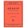 Adagio in E major, Opus 125, No. 2 for Violin and Piano - Mozart