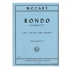 Rondo in C major, K. 373 , for Violin and Piano - Mozart