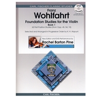 Foundation Studies for the Violin, Book 1 - Wohlfahrt