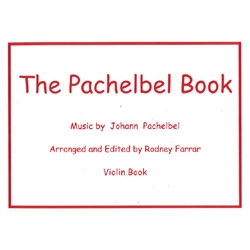The Pachelbel Book and CD for Violin - Pachelbel / Farrar