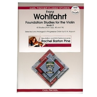 Foundation Studies for the Violin, Book 2 - Wohlfahrt