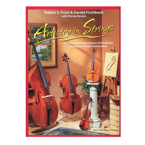 Artistry in Strings, Violin Book 2 - Frost and Fischbach