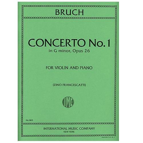 Concerto No. 1 in G minor, Opus 26 - Max Bruch