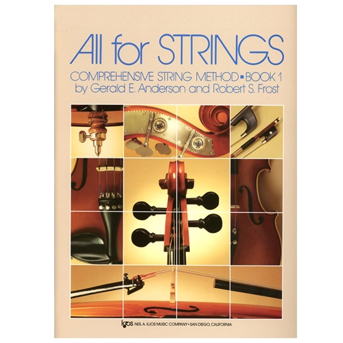 All for Strings Book 1 for violin