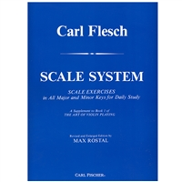 Carl Flesch Scale System for Violin