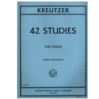 42 Studies for Violin - Kreutzer