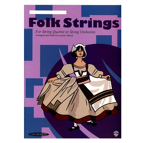 Folk Strings For String Quartet or String Orchestra: Violin 2