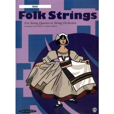 Folk Strings For String Quartet or String Orchestra: Bass