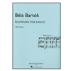 Roumanian Folk Dances for Violin & Piano - Bartok