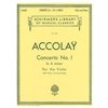 Concerto No. 1 in A Minor - J. B. Accolay