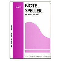 Note Speller, Level 1 - James Bastien