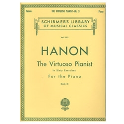 The Virtuoso Pianist, Book 3 - by C. L. Hanon
