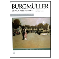 25 Progressive Pieces for the Piano, Op. 100 - by Johann Burgmuller