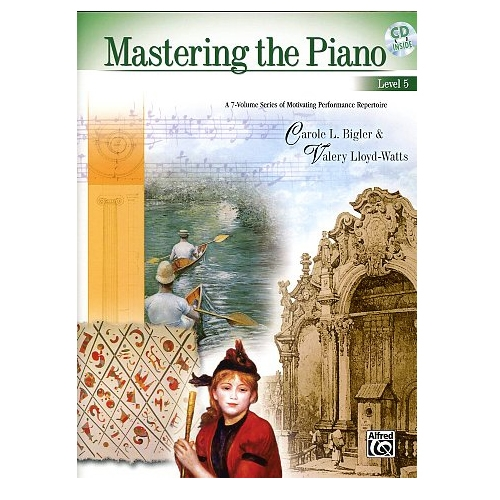 Mastering the Piano, Level 5, plus CD - Bigler & Lloyd-Watts