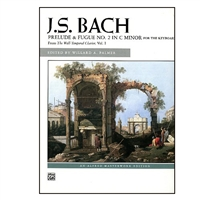 Prelude & Fugue No 2 In C Minor - Bach