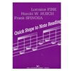 Quick Steps to Note Reading for Cello, Volume 3 - Fink, Rusch, and Spinoza
